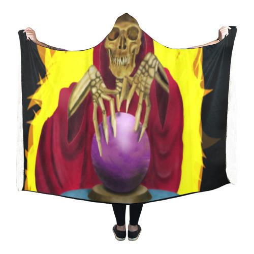Death Fortune Hooded Blanket