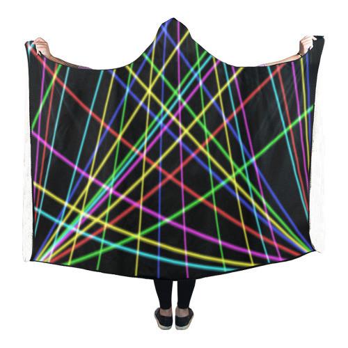Neon Hooded Blanket