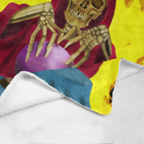 Death Fortune Ultrasoft Micro Fleece Blanket