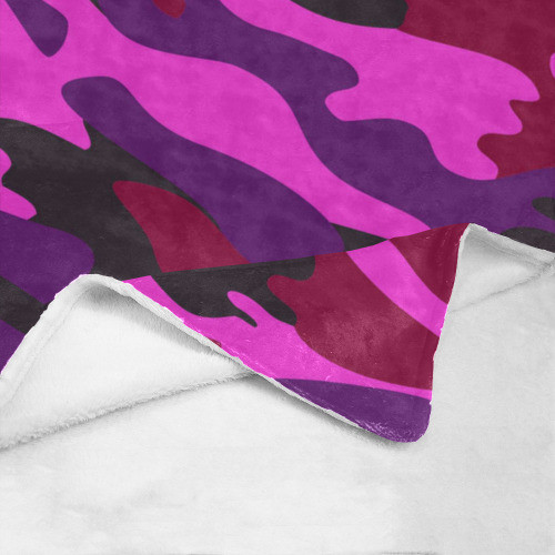 Pink Camo Ultrasoft Micro Fleece Blanket