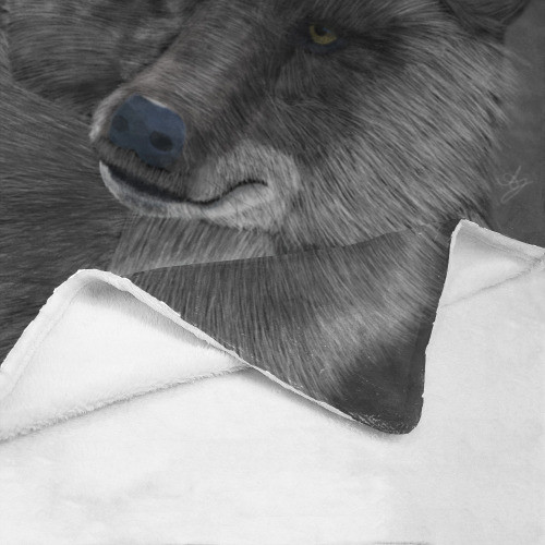 Wolf Moon Ultrasoft Micro Fleece Blanket
