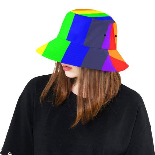 Rainbow Bucket Hat For Women