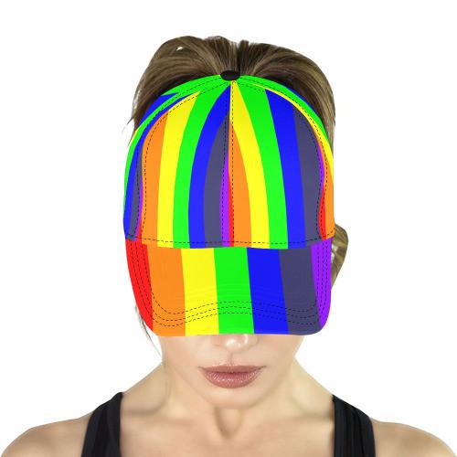 Rainbow Dad Cap