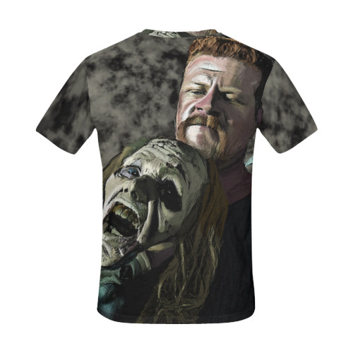 Abraham Ford/Zombie  Men's All-Over-Print Tee