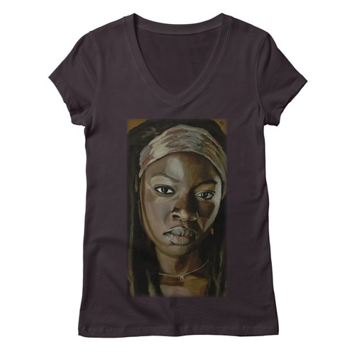 Michonne Womens V-Neck Tee