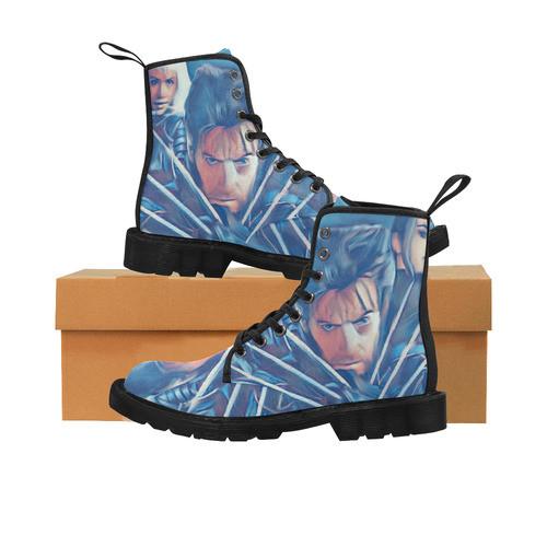 X-Men Mens Martin Boots