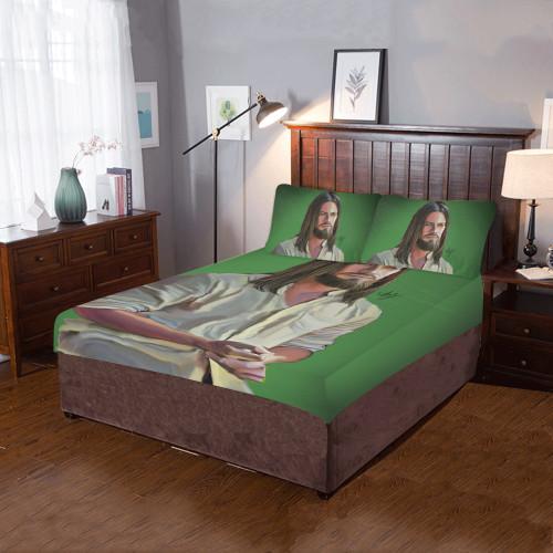 Jesus Bedding Set
