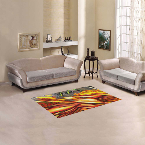 Fawkes Fire Area Rug