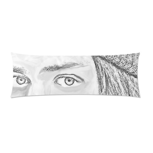 Jesus Graphite Pillow Case