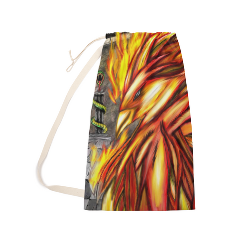 Fawkes Fire Laundry Bag