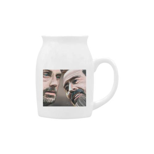 Rick & Negan Milk Cup