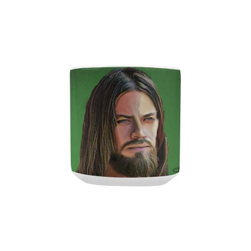 Jesus Heart-Shaped Handle Mug