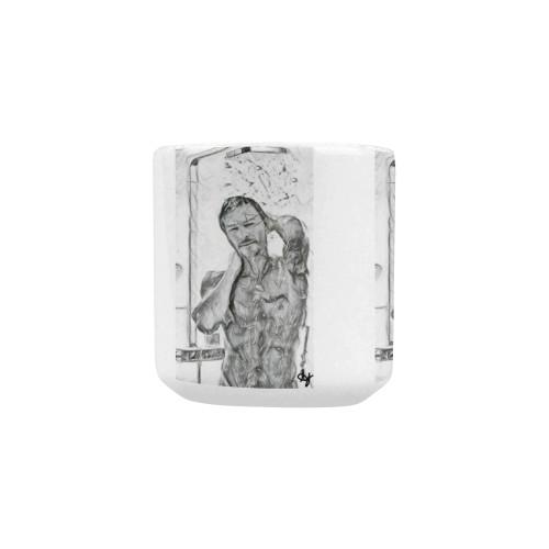 Wet Hot Heart-Shaped Handle Mug