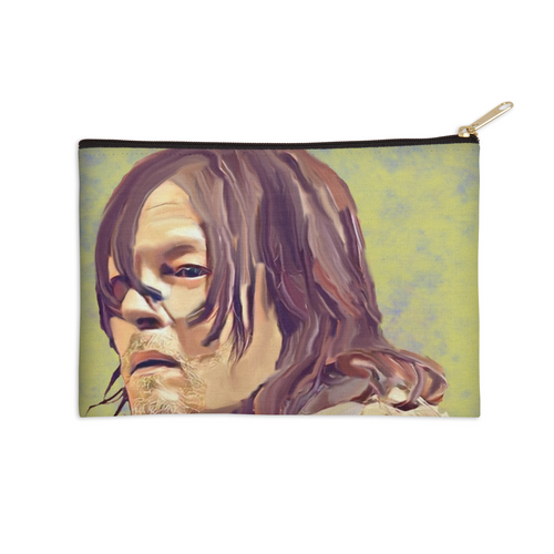 Daryl Watercolor Zip Pouch
