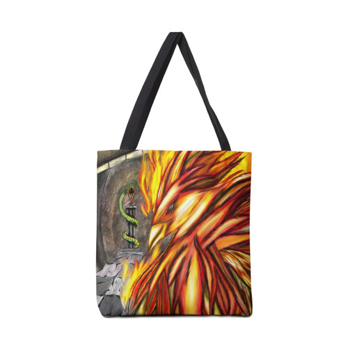 Fawkes Fire Tote Bag