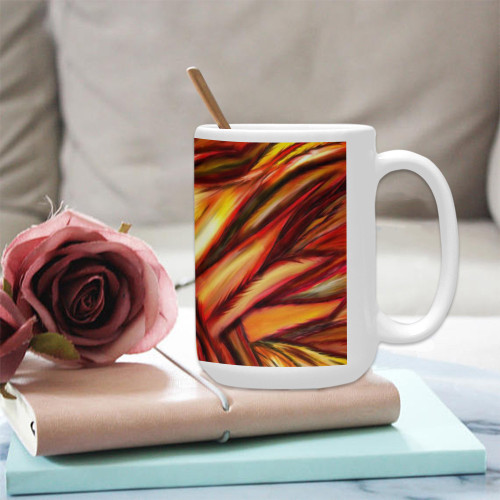 Fawkes Fire Ceramic Mug