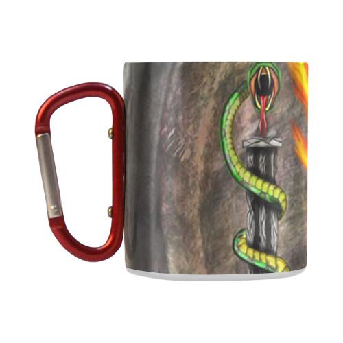 Fawkes Fire Insulated Mug