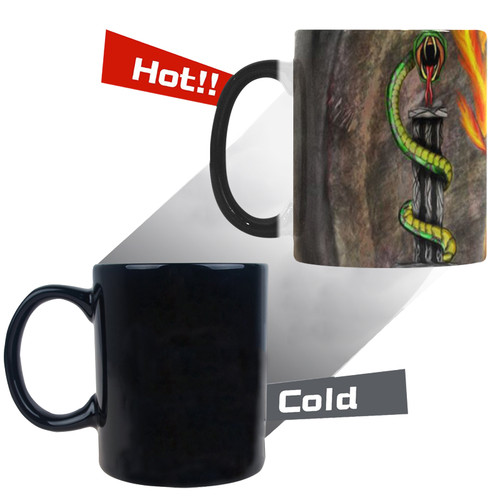Fawkes Fire Morphing Mug