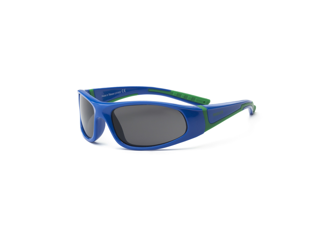 42e2fef539b Real Kids Shades MiGrocer - 4+ Kids ~ Bolt – Royal Blue Green eye ware