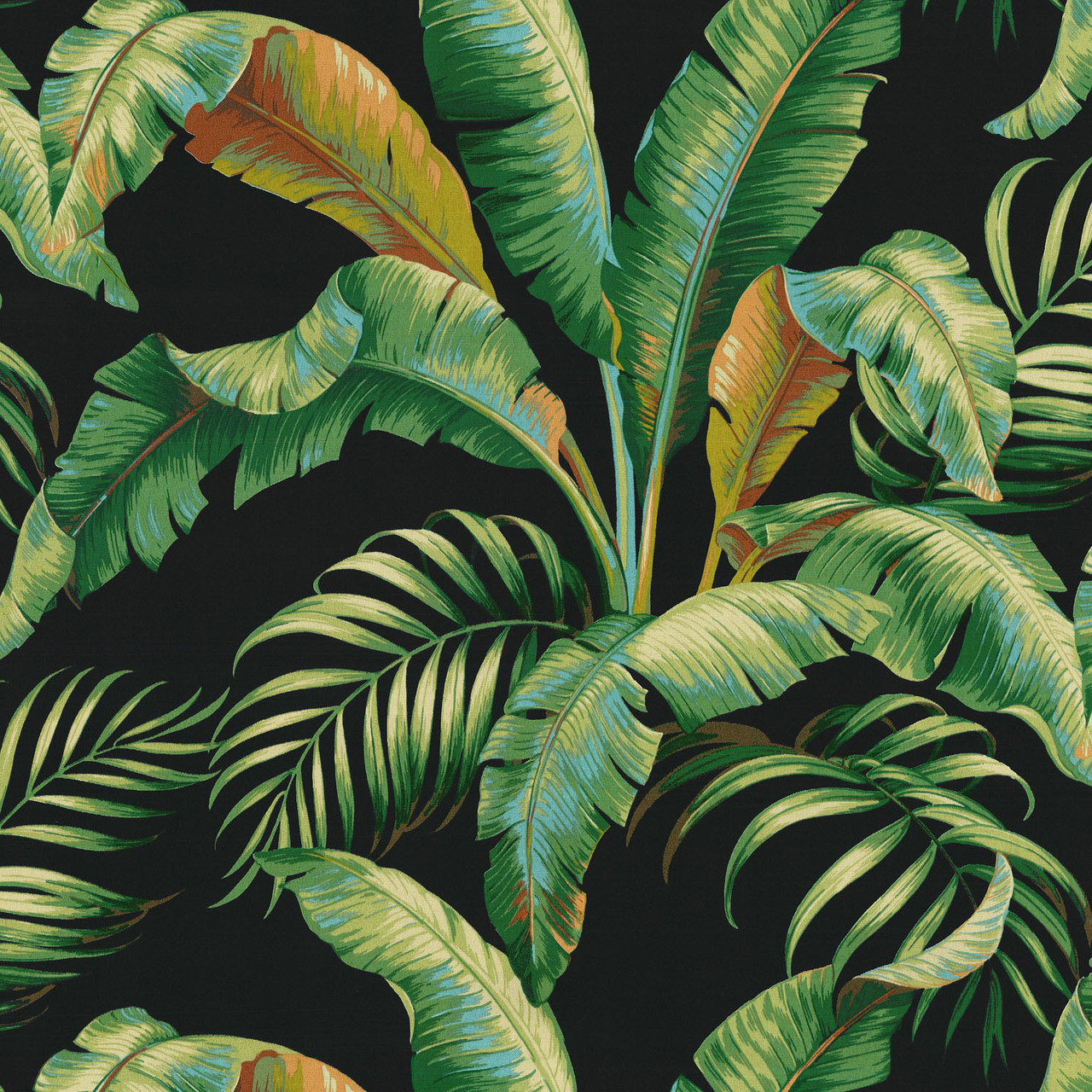 Tbo Palmiers Caviar 802190 By Tommy Bahama Home Designer Fabric
