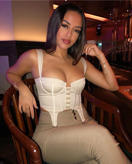 Underwired Corset Crop Top in White