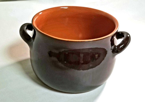 3.5 Quart Brown Stew pot  - no lid