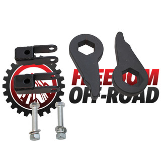 "1""-3"" Leveling Kit Torsion Keys w/ Shock Extenders #FO-G101F+FO-G406"