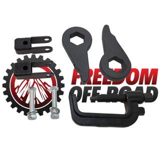 "1""-3"" Leveling Kit Torsion Keys, Install Tool, Shock Extenders #FO-G101F+FO-G406+FO-UTTOOL"