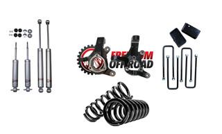 """5"""" Front / 3"""" Rear Lift Kit w/ Shocks #FO-G501-RWD50-KIT"""