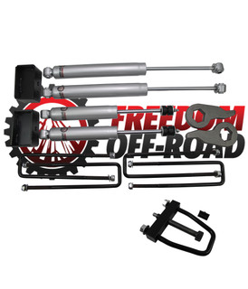 "1-3"" Leveling Kit w/ Shocks and Torsion Key Tool #FO-G502-KIT+FO-UTTOOL2"