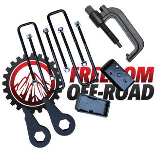"""1-3"""" Leveling Kit w/ Torsion Key Tool #FO-G601-KIT+FO-UTTOOL"""
