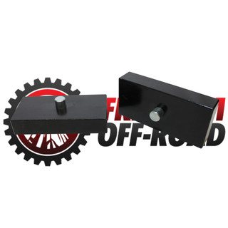 "1"" Aluminum Rear Lift Blocks #FO-U30110"