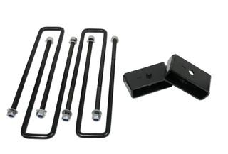 """2"""" Rear Lift Blocks w/ Extended U-Bolts #FO-G30420+FO-G308"""