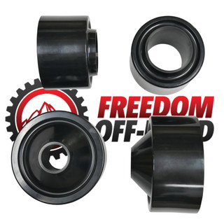 """2.5"""" Front / 2.5"""" Rear Lift Spacers #FO-J303F25+FO-J303R25"""