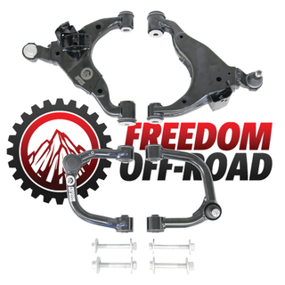 """Front Upper and Lower Control Arms for 2-4"""" Lift #FO-T702FU+FO-T700FL"""