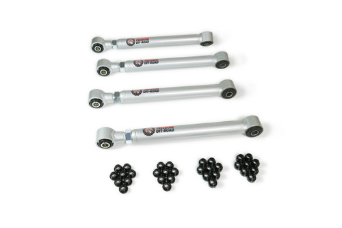 Front Upper and Lower Control Arms w/ Pillowball #FO-D701F-ADJ-FLX(2)