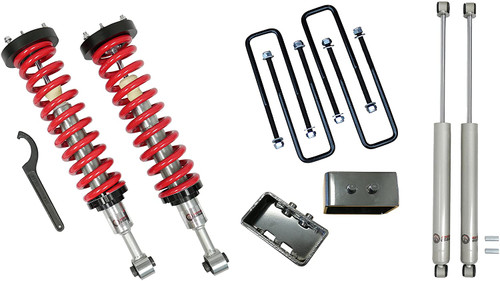 "1-4"" Adjustable Coilovers / 3"" Rear Blocks w/ U Bolts and Shocks #FO-F904-KIT"