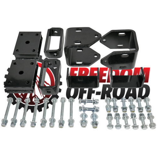 "4"" Block Golf Cart Lift Kit EZGO TXT / Medalist Gas Models #FOP-E30140"
