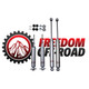 "0-4"" Lift Extended Nitro Shocks #FO-G301-RWD"