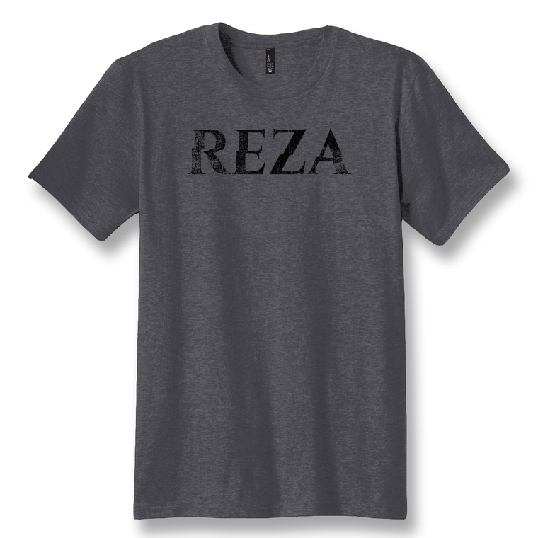 REZA | GRAY GRUNGE T-SHIRT