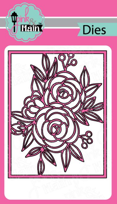 Fancy Floral Cover Die