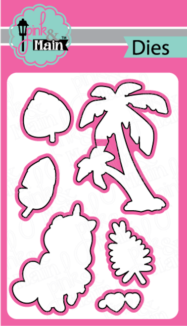 Pink and Main Beach Unicorn die set