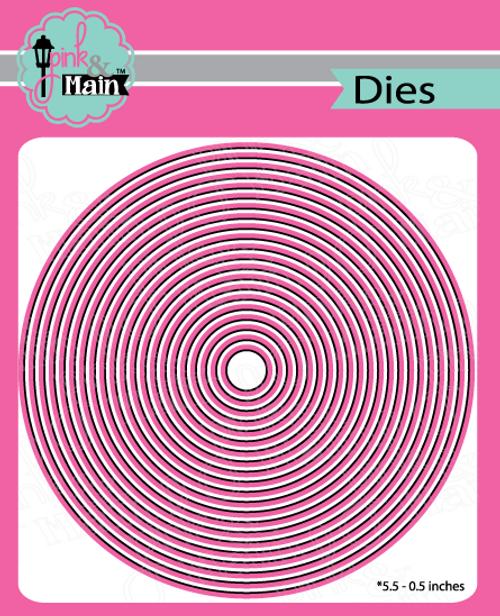 Layered Circles Dies