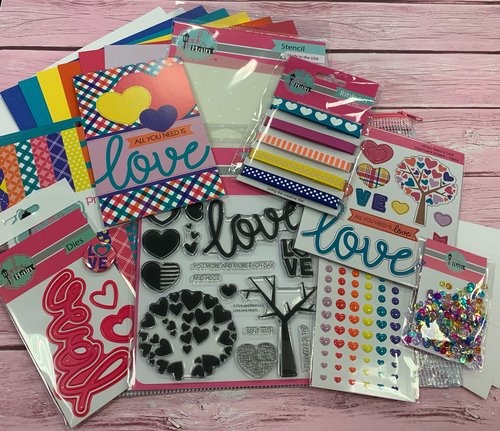 All You Need is Love Crafty Courtyard Kit