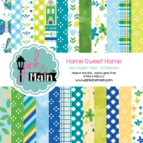 Home Sweet Home 6x6 Paper Pack