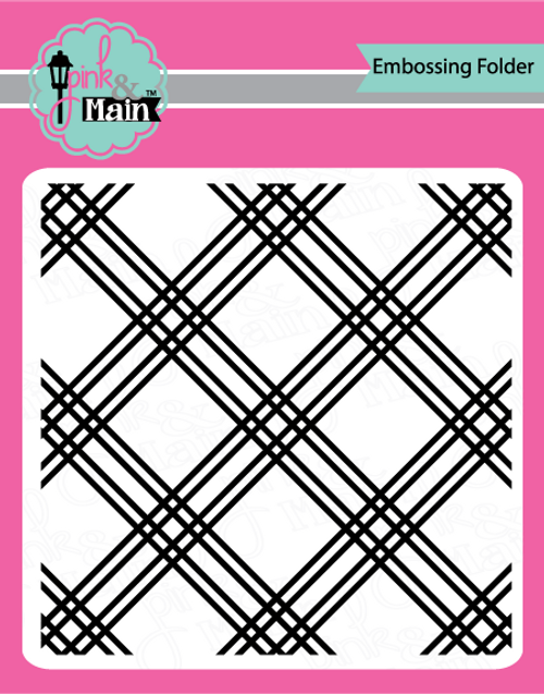 Plaid 6x6 Embossing Folder