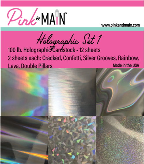 Holographic Cardstock Set 1