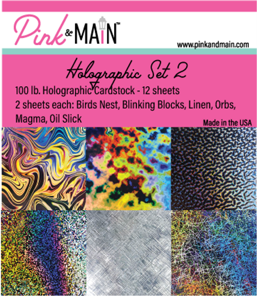Holographic Cardstock Set 2