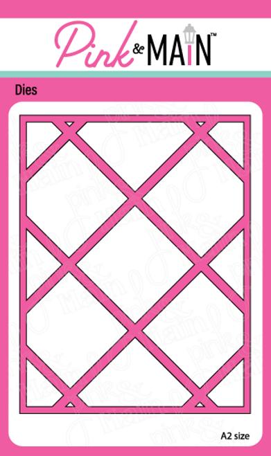 Plaid Cover Die Panel A