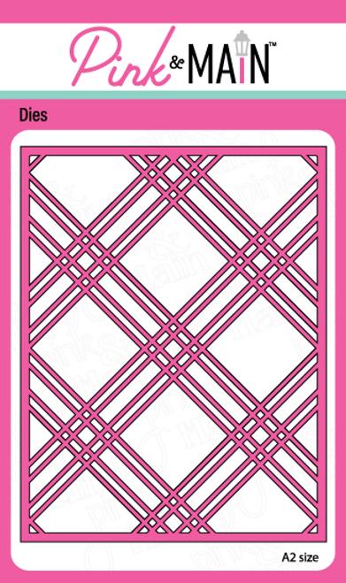 Plaid Cover Die Panel B